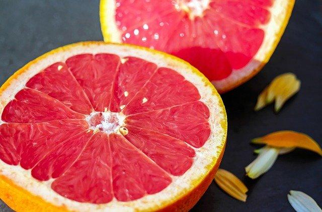 Půlka grapefruitu
