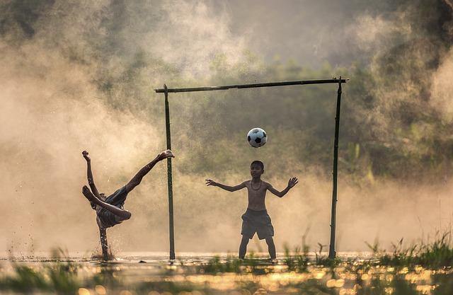 hra s míčem