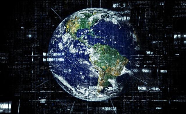 sítě zeměkoule