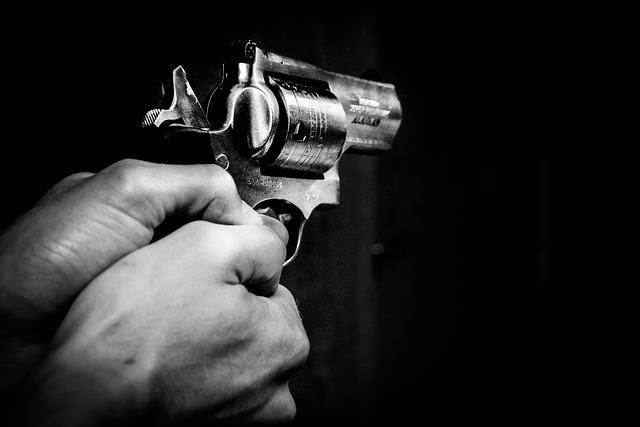 namířená zbraň