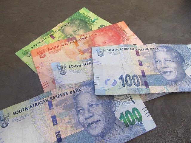 africké bankovky, JAR